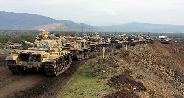 Afrin Operasyonunda 1528 Terörist Etkisiz Hale Getirildi