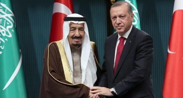 Erdoğan, Suudi Kral ile Görüştü...