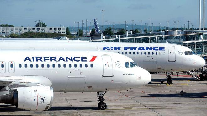 Fransız Hava Yolu Şirketi Çalışanları Greve Başladı