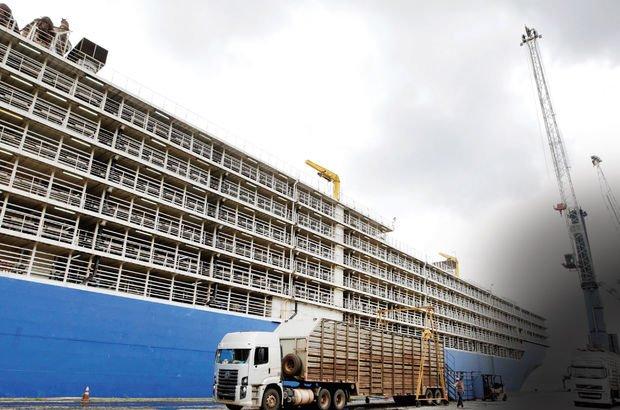 Tartışmalara Yol Açan Gemi Mersin Limanı'na Ulaştı