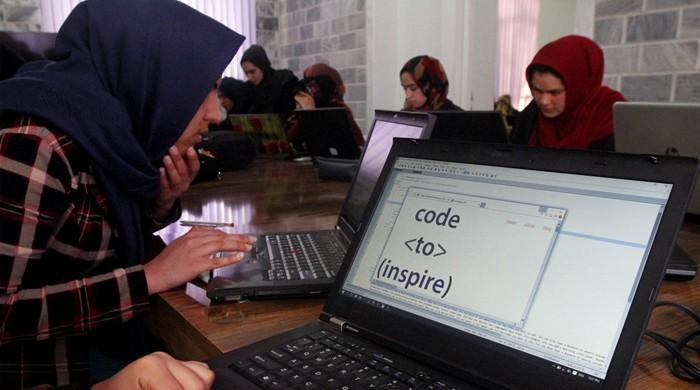 Afganistan'ın şaşırtıcı kadın kodlama grubu