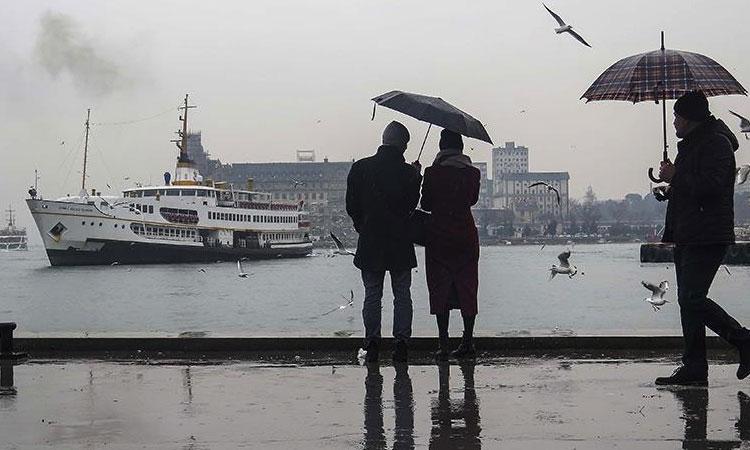 Karadeniz Üzerinden Serin ve Yağışlı Hava Geliyor