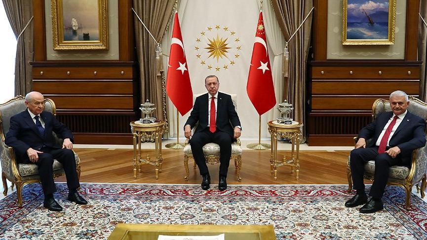 Bahçeli ve Erdoğan'ın İlk Görüşmesinde İki Konuda Uzlaşma Sağlandı