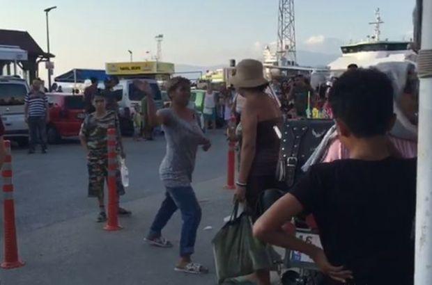 Turist Kadın Para Vermeyince İftira Atarak Saldırdı