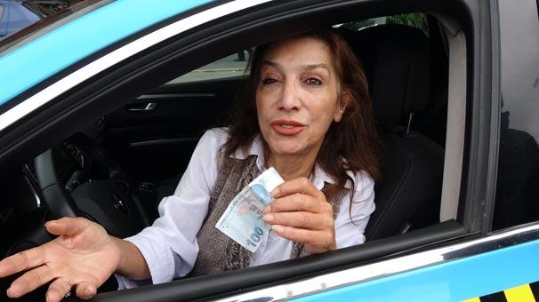 Kadın Taksici Dolandırıldığını Geç Fark Edince Olanlar Oldu