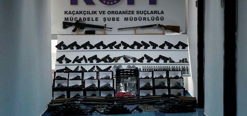 Gaziantep ve Adana'da Silah Kaçakçılarına Baskın