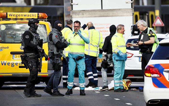 Hollanda Utrect'te terör saldırısı