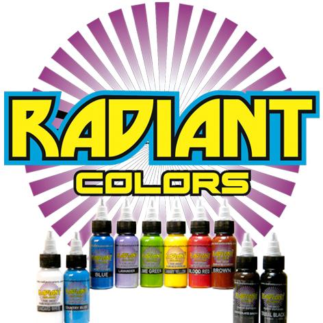 Radiant Dövme Boyaları