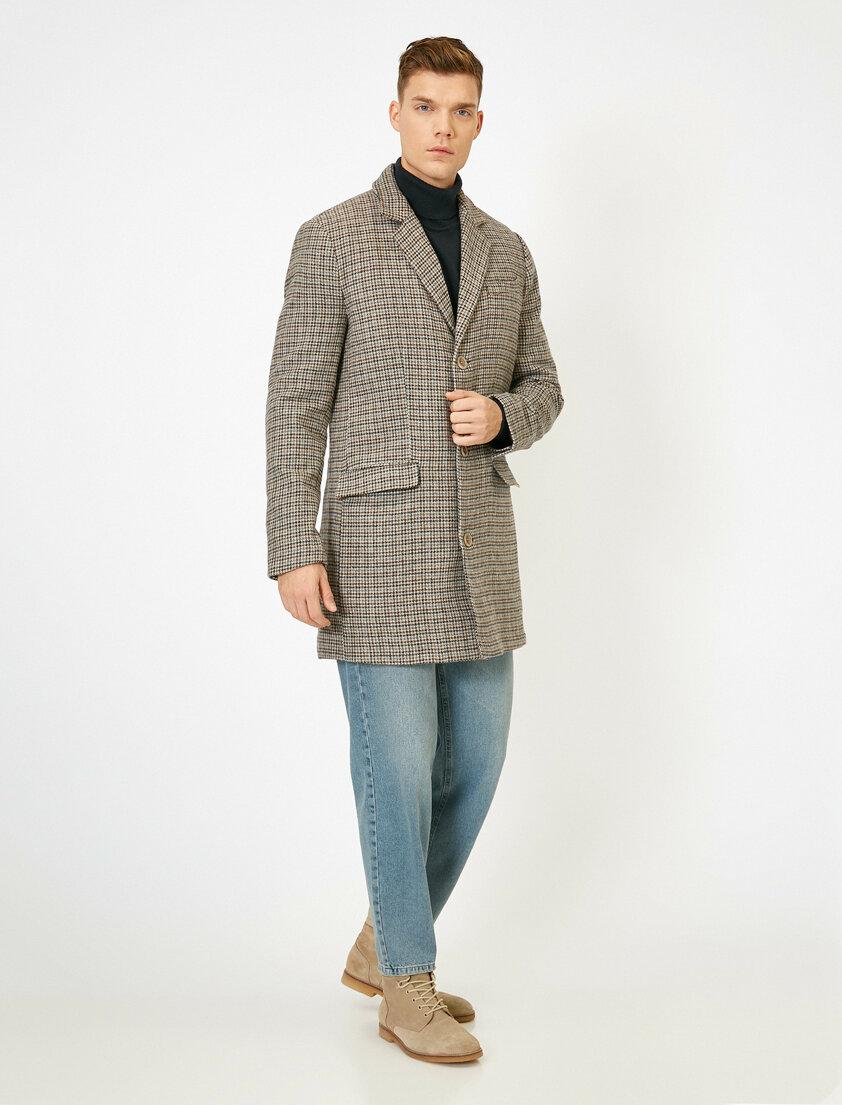 Klasik Bir Kış Kombini: Koton Erkek Kaban ve Pantolon Modelleri