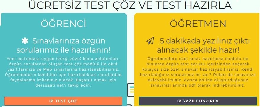 Test Çözümü Test Hazırlıkları Geçerli Aşamalar
