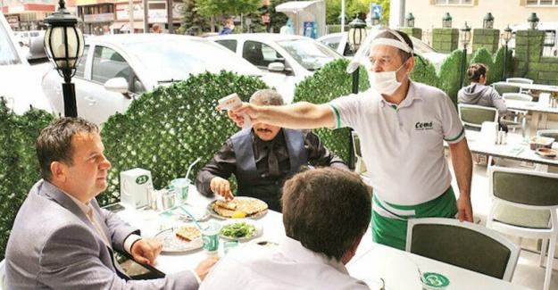 Açık Alanı Olan Restoran Kazandı