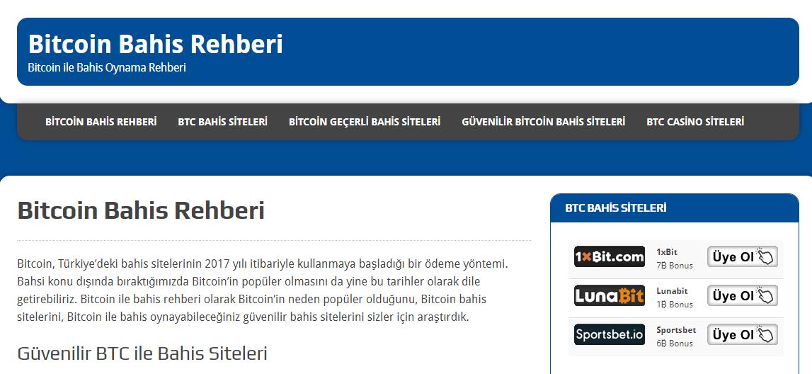 En İyi Bitcoin Bahis Sitesi