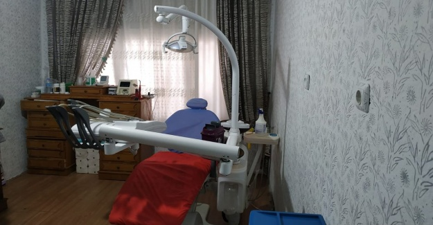 Konya'da yaşayan Suriyeli'nin diş muayenehanesine çevirdiği eve baskın