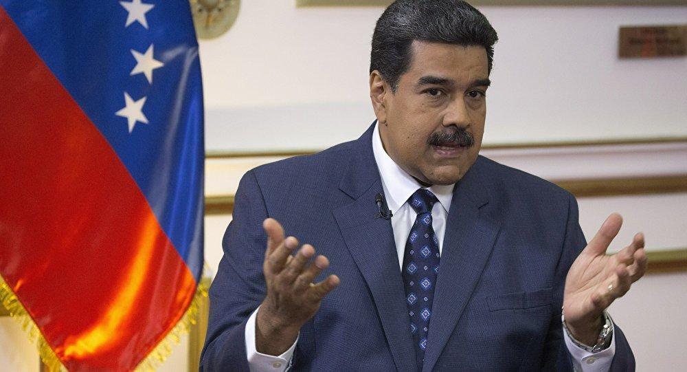 Maduro 'ABD Venezuela halkının zenginliklerine göz dikti'