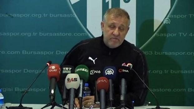 Bursaspor mağlup olsa da Mesut Bakkal umutlu